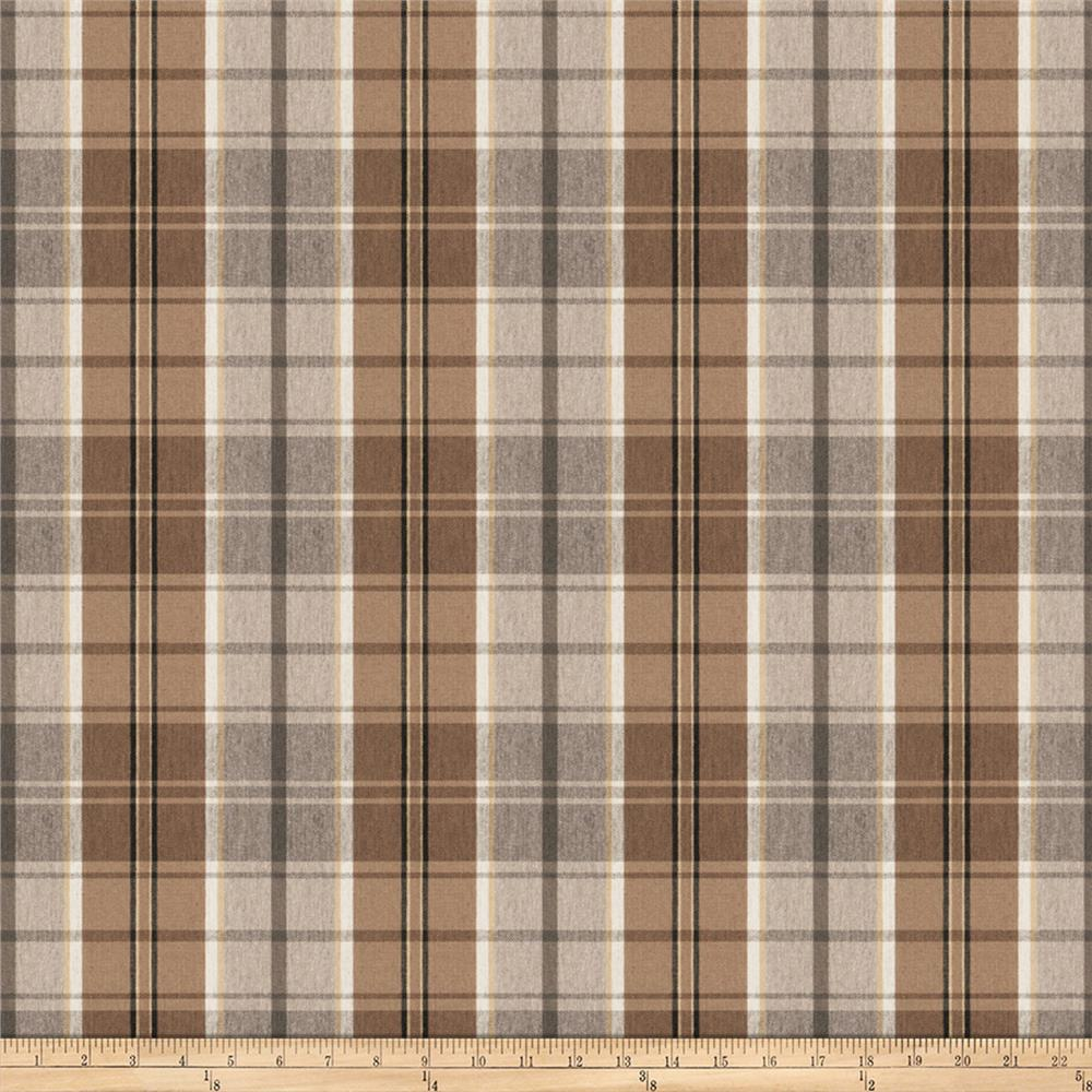 Trend 03821 Twill Plaid Coffee