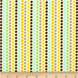 Kanvas Zoo Baby Flannel Zoo Dot Yellow
