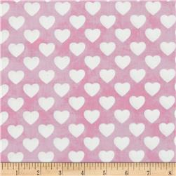 Sleepytime Animals Hearts Pink