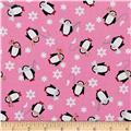 Arctic Girl Penguins Pink