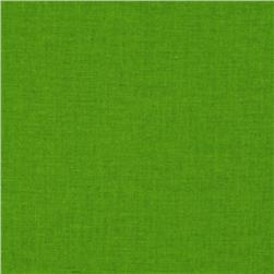 Free Spirit Designer Solid Broadcloth Apple Green