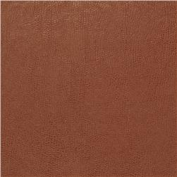 Fabricut 03343 Faux Leather Terra Cotta