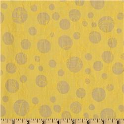 Embroidered Crushed Lawn Floral Yellow