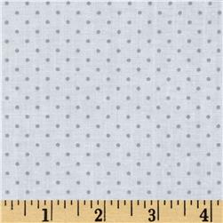 Cotton Tale Pin Dot Grey