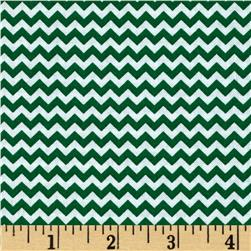 Fabric Freedom Construction Chevron Green