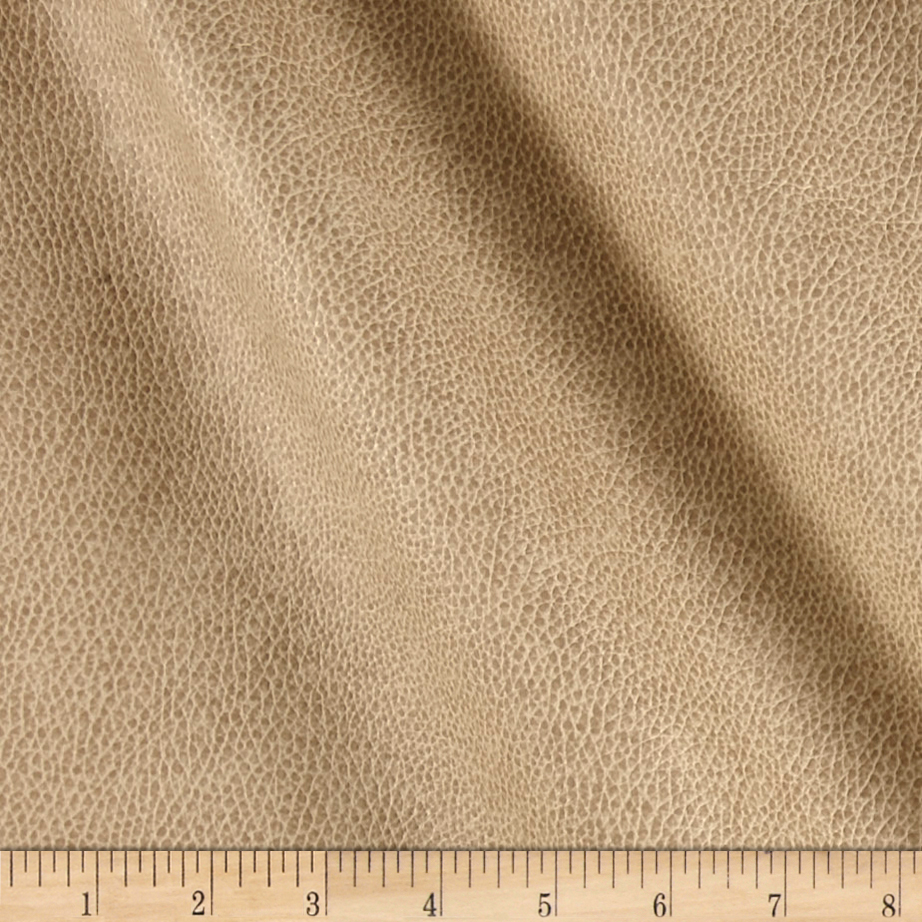 Richloom Tough Faux Leather Bryant Linen Fabric by TNT in USA