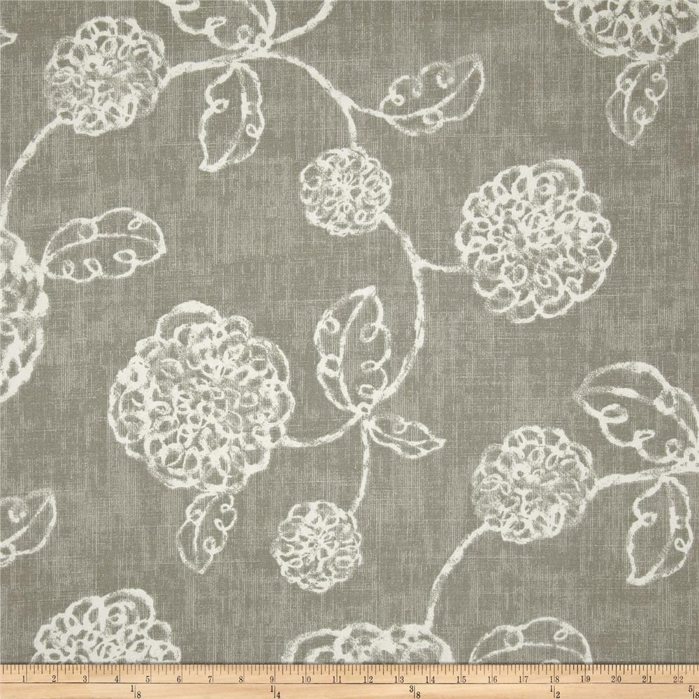 Magnolia home fashions adele slate discount designer for Wallpaper home fabrics