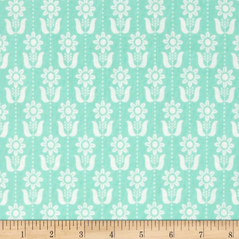 Grey Abbey Organic Folky Daisy Egg Blue