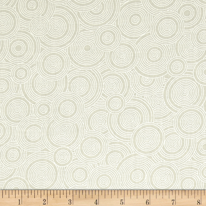 Image of 108'' Contempo Quilt Back Spiral White/Tint Fabric