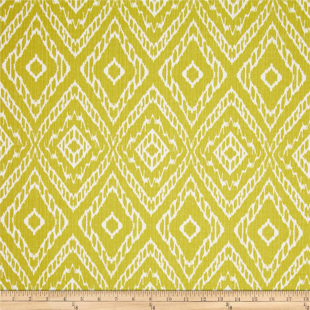 Robert Allen Home Indoor Outdoor Baja Diamond Yellow