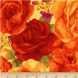 Timeless Treasures Rosa Roses
