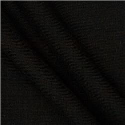 7 oz Cotton Rib Knit Black