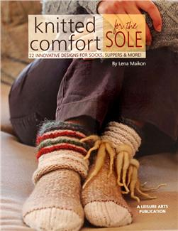 Leisure Arts ''Knitted Comfort for the Sole