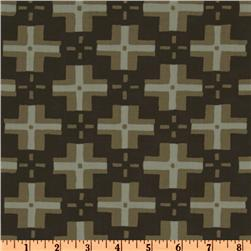 Parson Gray Curious Nature Trade Blanket Smoke Brown