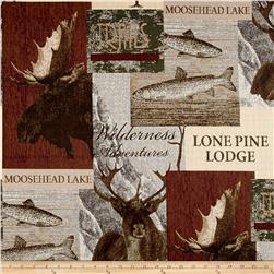 Regal Pine Lodge Jacquard Sand