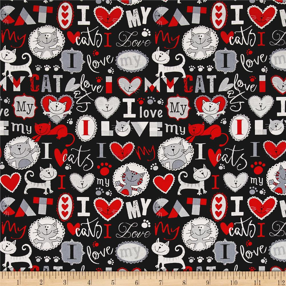Cat Quilt Fabric Cat Fabric By The Yard Fabric Com