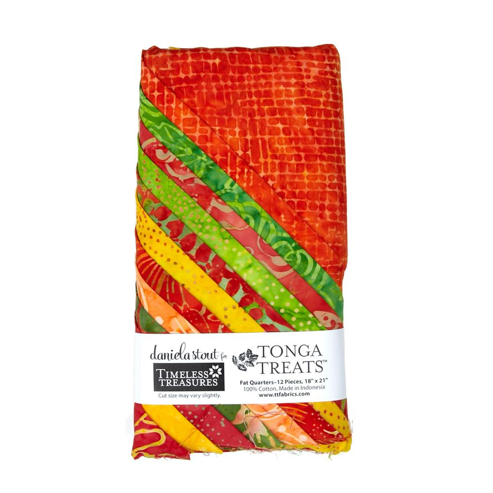Timeless Treasures Tonga Batik Sunburst Fat Quarter Bundles