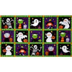 Happy Haunting Patchwork Multi
