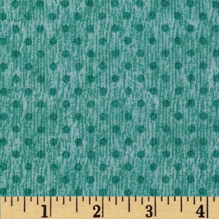 Herb Garden Dots Teal