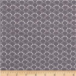 Monterey Dotted Arcs Taupe Grey