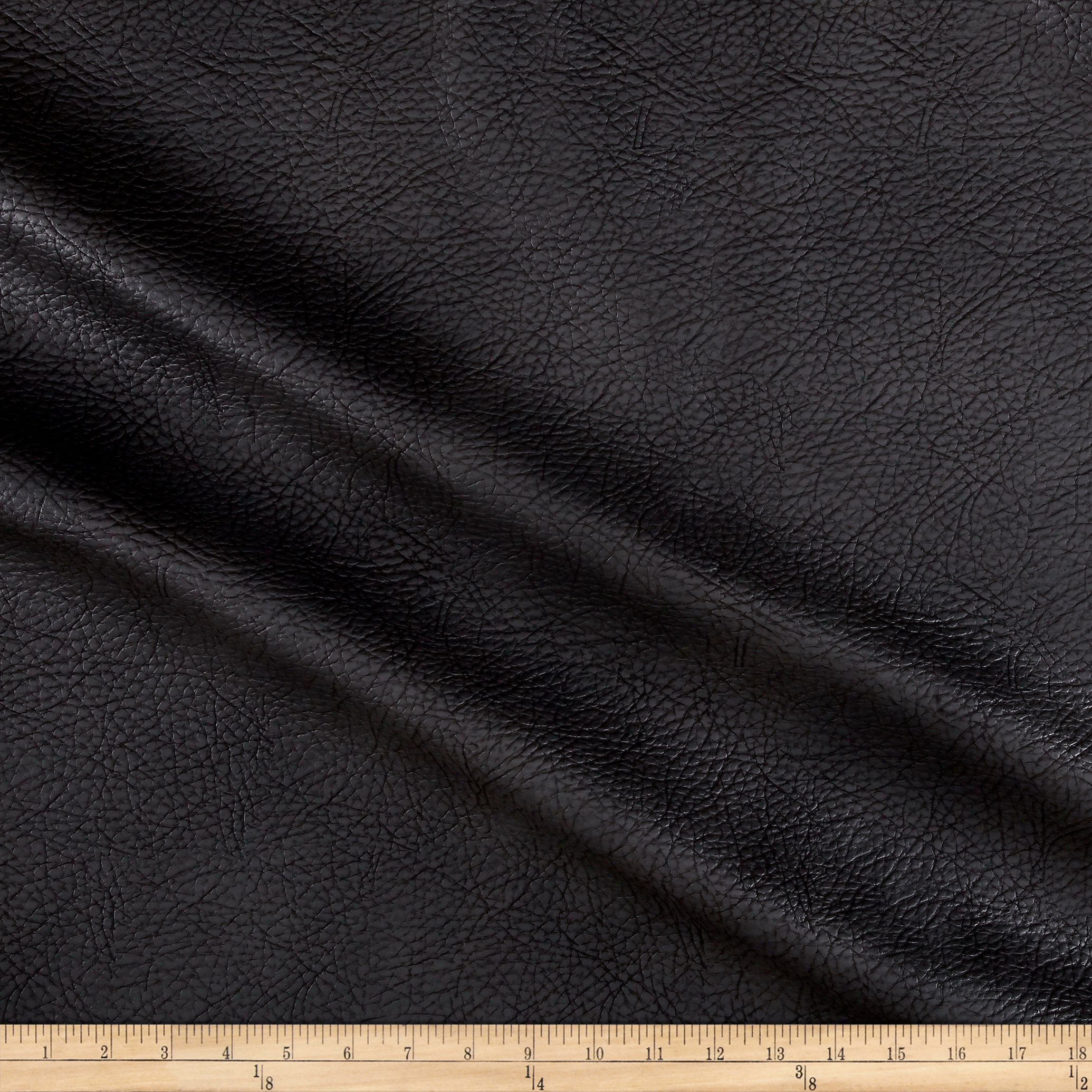 Richloom Tough Faux Leather Lorimer Gunmetal Fabric by TNT in USA