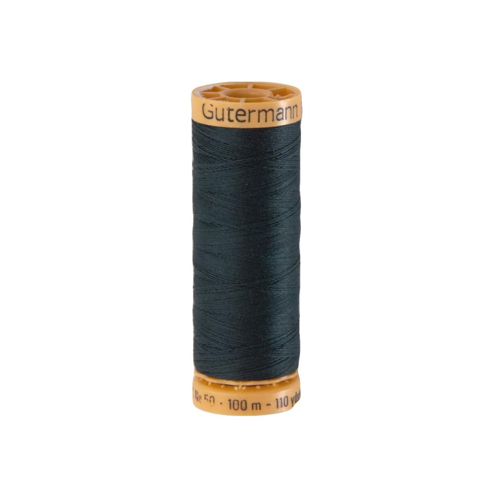 Gutermann Natural Cotton Thread 100m/109yds Dark Midnite