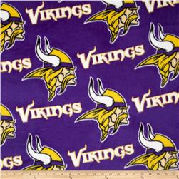 NFL Fleece Minnesota Vikings All Over Purple