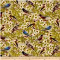 Paloma Birds In Trees Tan