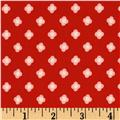 Riley Blake Cotton Jersey Knit Acorn Bloom Dot Red