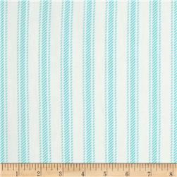Premier Prints Hayes Stripe Twill Girly Blue