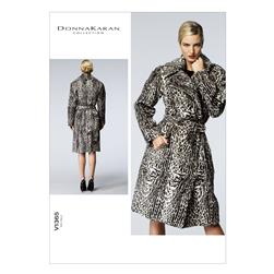 Vogue Misses' Coat and Belt Pattern V1365 Size A50