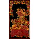 Autumn Splendor Panel Black
