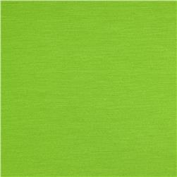 Stretch Bamboo Rayon Jersey Knit Lime Green Fabric