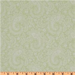Treasures by Shabby Chic Wildflowers Paisley Green