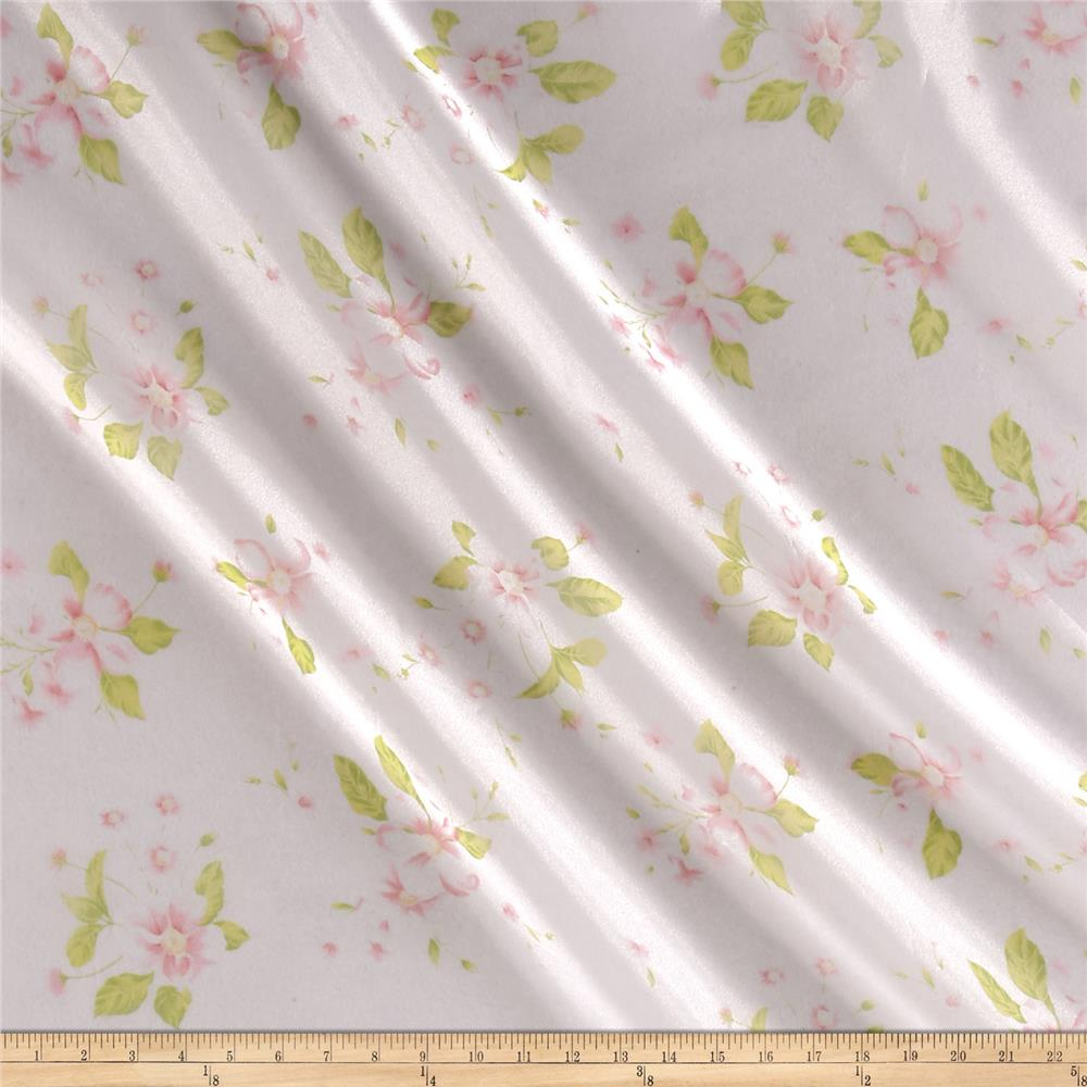 Organza Floral Pink/Green/White
