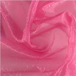 Fairy Dust Organza Hot Pink Fabric