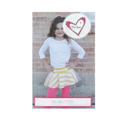 Mixi Heart Mixi Mini Skirt Pattern