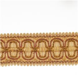"Fabricut 2"" Beach House Trim Copper"