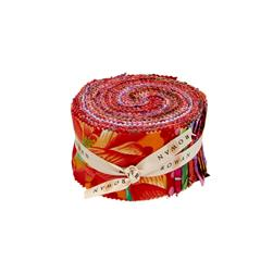 "Kaffee Fassett Collective Warm 2.5"" Design Roll"