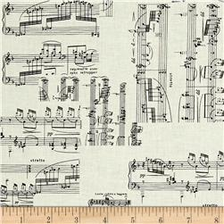 Kanvas The Music In Me Sheet Music Cream