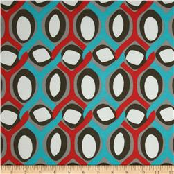 Premier Prints Indoor/Outdoor Rivers Calypso Fabric