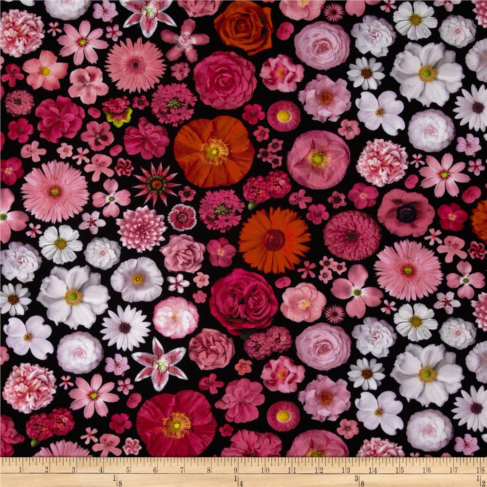 Bloominescent Digital Scattered Floral Blossom