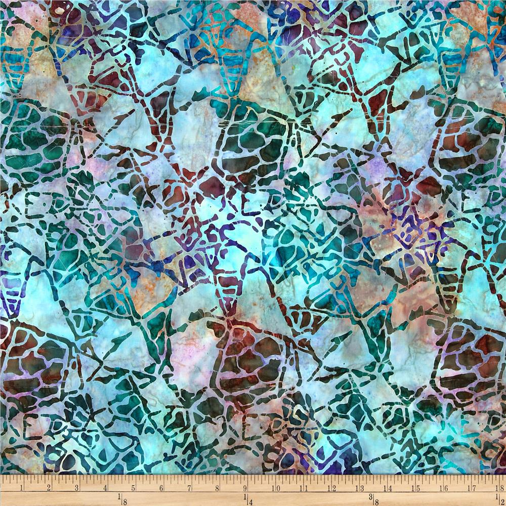 Artisan Batiks Nature's Creations Rock Garden Jewel Purple