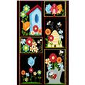 Birds n Bees 23 In. Panel Multi