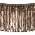 "Fabricut 9"" Mountain Resort Bullion Fringe Heritage"
