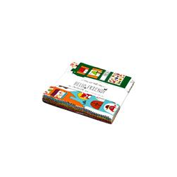 Moda Hello Friend 5 In. Charm Pack Multi