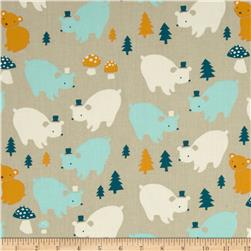 Birch Organic Everyday Party Bear Family Multi