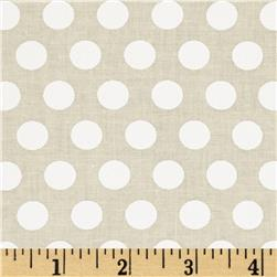 Moda April Showers Polka Dot Cream