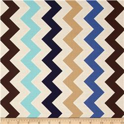 Riley Blake Medium Shaded Chevron Sporty