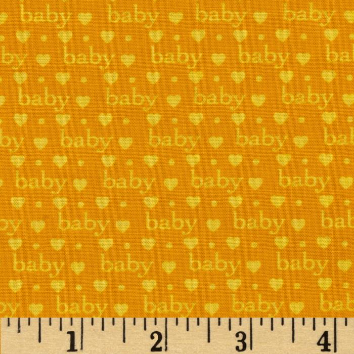 Bundle of Joy Baby Love Primary Yellow